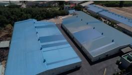 물류센타지붕개량공사