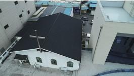 군산새벽별교회수양관지붕개량공사
